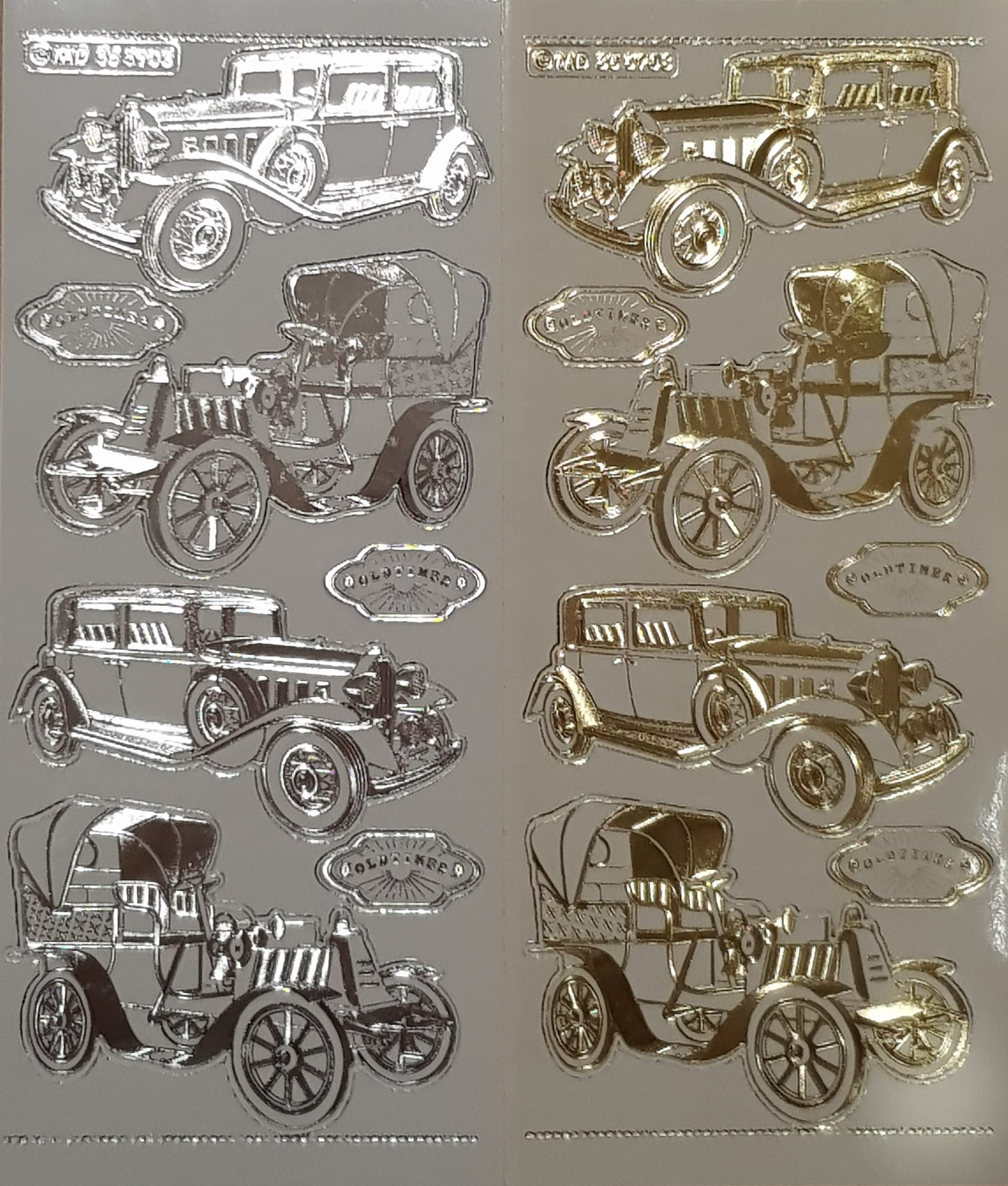 Olden Day Car Stickers – A Crafter\'s Heaven scrapbooking and craft shop